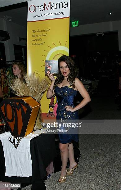 Actress Christina DeRosa arrives at ShaBoom Costmetics Launch Party on November 17, 2010 in Beverly Hills, California.