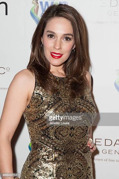 Actress Christina DeRosa arrives at the annual 2013 Women's Image Awards at Santa Monica Bay Woman's Club on December 11, 2013 in Santa Monica,...