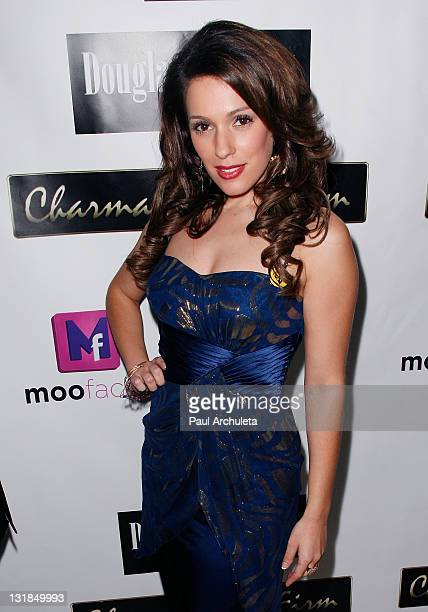 Actress Christina DeRosa arrives at the ShaBoom Cosmetics launch party to benefit One Mama Foundation on November 17, 2010 in Beverly Hills,...