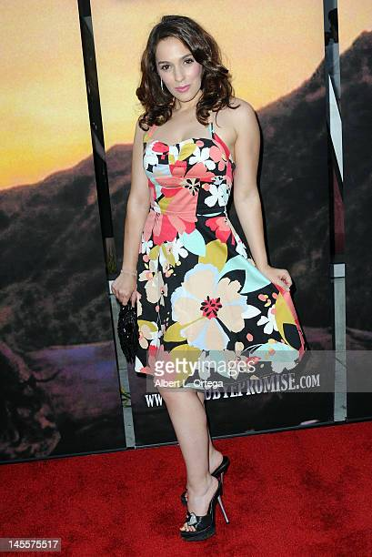 """Actress Christina DeRosa arrives for """"Goodbye Promise"""" - Los Angeles Premiere held at The Downtown Independent on June 1, 2012 in Los Angeles,..."""