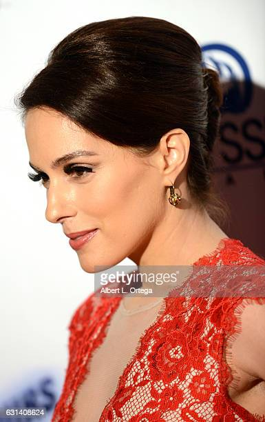 """Actress Christina DeRosa arrives for the Premiere Of Gravitas Pictures' """"48 Hours To Live"""" held at TCL Chinese 6 Theatres on January 9, 2017 in..."""
