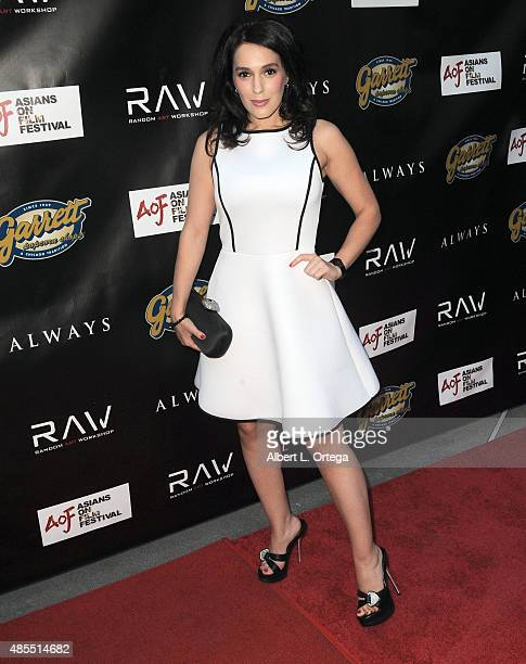 Actress Christina DeRosa arrives for the Premiere Of Random Art Workshop's Always held at ArcLight Cinemas on August 27 2015 in Hollywood California