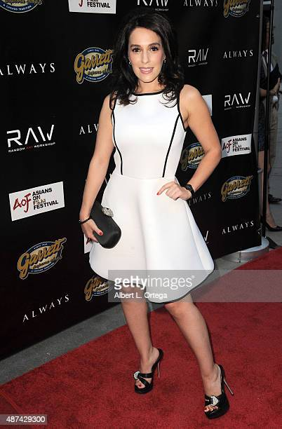 """Actress Christina DeRosa arrives for the Premiere Of Random Art Workshop's """"Always"""" held at ArcLight Cinemas on August 27, 2015 in Hollywood,..."""