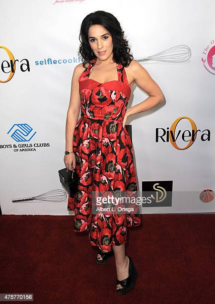 Actress Christina DeRosa arrives for the Viva Glam Issue Launch Party Hosted by cover girl Leah Remini held at Riviera 31 on June 2 2015 in Beverly...