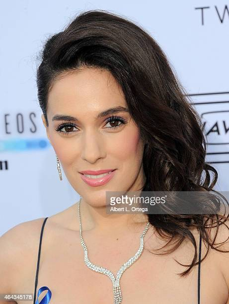 Actress Christina DeRosa at the 2015 Society Of Camera Operators Lifetime Achievement Awards held at Paramount Studios on February 8 2015 in...