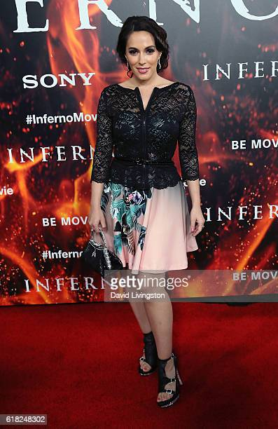 """Actress Christina DeRosa attends a screening of Sony Pictures Releasing's """"Inferno"""" at the DGA Theater on October 25, 2016 in Los Angeles, California."""