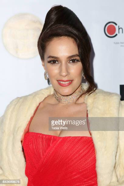 Actress Christina DeRosa attends Celebrating Women in Film and Diversity in Entertainment at Boulevard3 on February 21, 2017 in Hollywood, California.