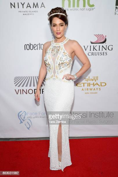 Actress Christina DeRosa attends Face Forward 8th Annual Gala at Taglyan Cultural Complex on September 23 2017 in Hollywood California