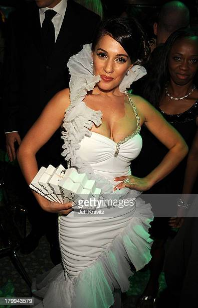 Actress Christina DeRosa attends HBO's Post Award Reception after the 60th Primetime Emmy Awards at the Pacific Design Center on September 21, 2008...