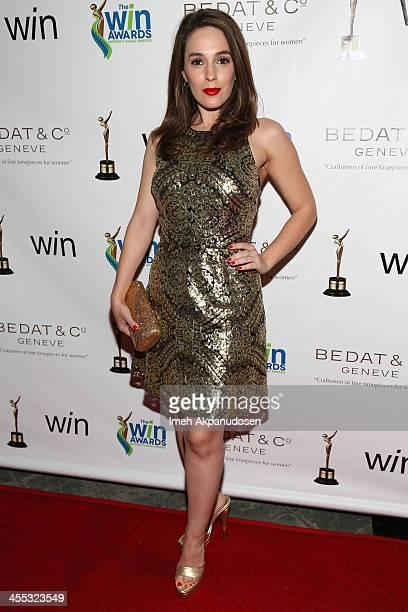 Actress Christina DeRosa attends the 2013 Women's Image Awards at Santa Monica Bay Womans Club on December 11, 2013 in Santa Monica, California.