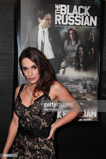 """Actress Christina DeRosa attends the """"Black Russian"""" Filmmakers VIP Reception and special screening at Arena Cinema Hollywood on November 4, 2013 in..."""