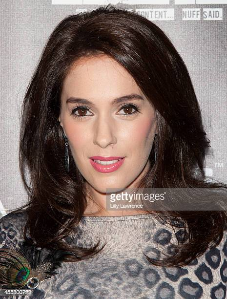 """Actress Christina DeRosa attends the """"Dysfunktion"""" Movie Wrap Party at Six01 Studio on September 19, 2014 in Los Angeles, California."""