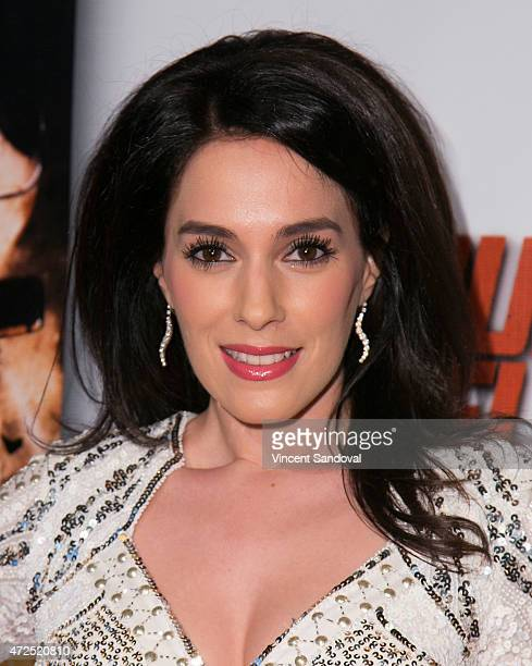 """Actress Christina DeRosa attends the Los Angeles premiere of """"Pound of Flesh"""" at Pacific Theaters at the Grove on May 7, 2015 in Los Angeles,..."""