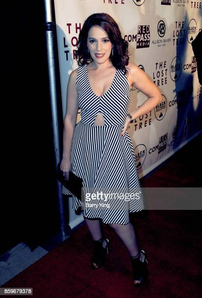 Actress Christina DeRosa attends 'The Lost Tree' screening at TCL Chinese 6 Theatres on October 9 2017 in Hollywood California