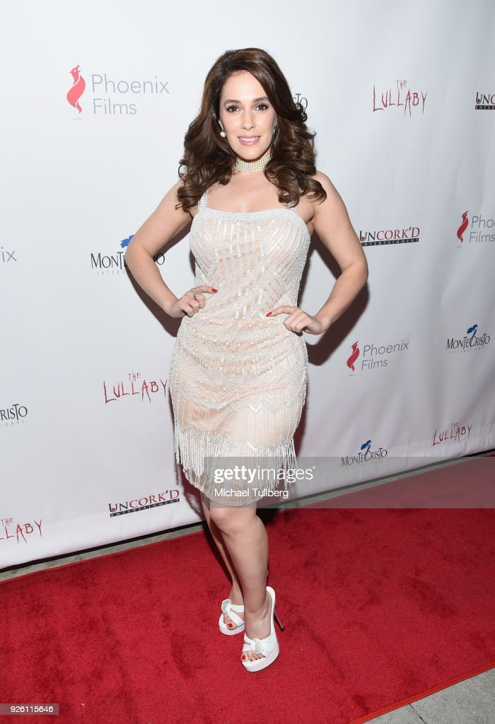 Actress Christina Derosa attends the premiere of Uncork'd Entertainment's 'The Lullaby' at Laemmle's Ahrya Fine Arts Theatre on March 1, 2018 in Beverly Hills, California.