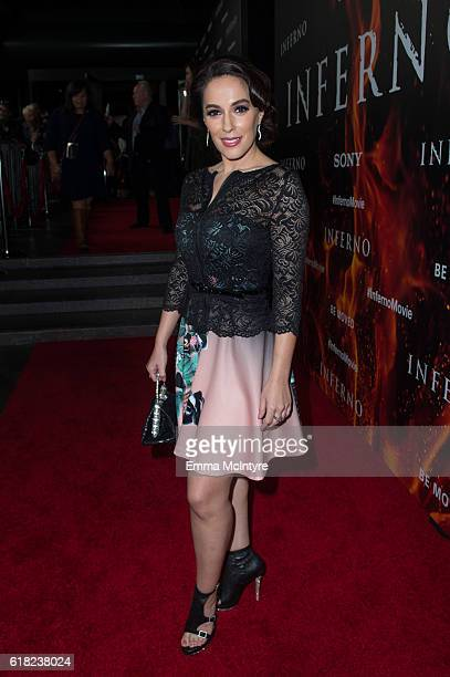 Actress Christina DeRosa attends the screening of Sony Pictures Releasing's 'Inferno' at DGA Theater on October 25 2016 in Los Angeles California