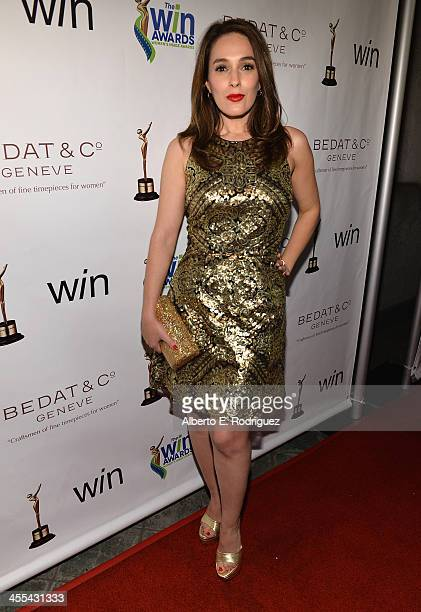Actress Christina DeRosa attends the WIN Awards at Santa Monica Bay Womans Club on December 11 2013 in Santa Monica California