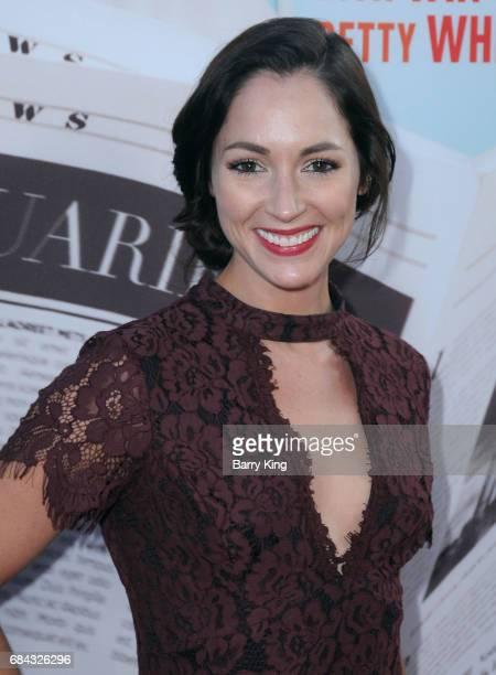 Actress Christina Elizabeth Smith attends premiere of HBO's 'If You're Not In The Obit Eat Breakfast' at Samuel Goldwyn Theater on May 17 2017 in...