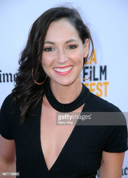 Actress Christina Elizabeth Smith attends the 2017 Los Angeles Film Festival Gala Screening Of 'Shot Caller' at Arclight Cinemas Culver City on June...
