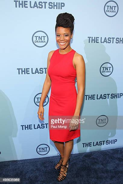 Actress Christina Elmore attends TNT's The Last Ship screening at NEWSEUM on June 4 2014 in Washington DC JPG