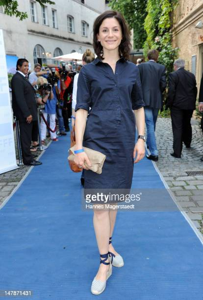 Actress Christina Hecke attends the FFF Reception during the Munich Film Festival 2012 at the Praterinsel on July 5 2012 in Munich Germany