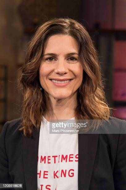 Actress Christina Hecke attends the Koelner Treff TV Show at the WDR Studio on March 6, 2020 in Cologne, Germany.