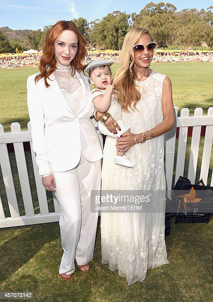 Actress Christina Hendricks and designer Rachel Zoe attend the FifthAnnual Veuve Clicquot Polo Classic at Will Rogers State Historic Park on October...