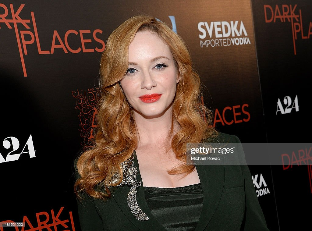 Apothic Wines And SVEDKA Vodka Present The Los Angeles Premiere Of A24 And DIRECTV's 'DARK PLACES' : News Photo
