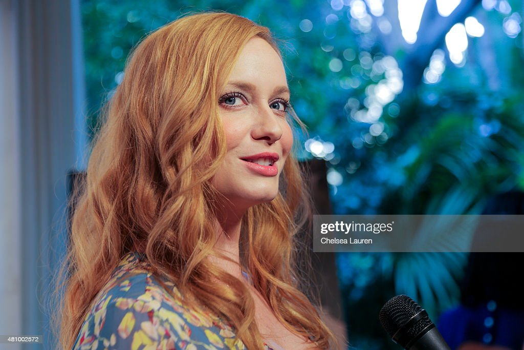 Los Angeles Confidential Women Of Influence Celebration Hosted By Christina Hendricks : News Photo