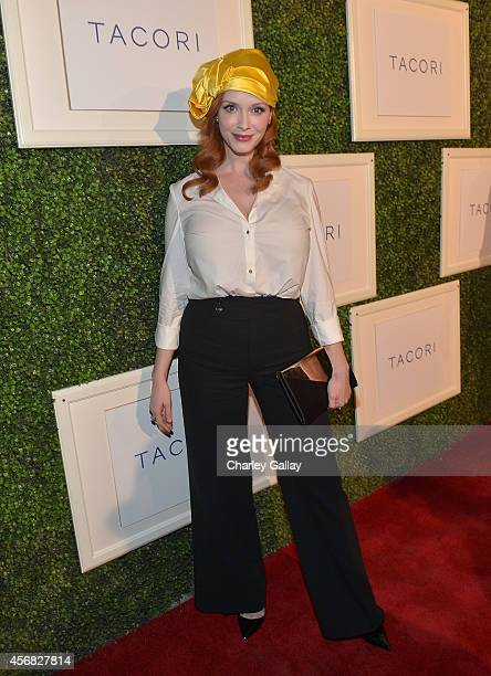Actress Christina Hendricks attends TACORI'S Annual Club TACORI 2014 Event at Hyde Lounge on October 7 2014 in West Hollywood California