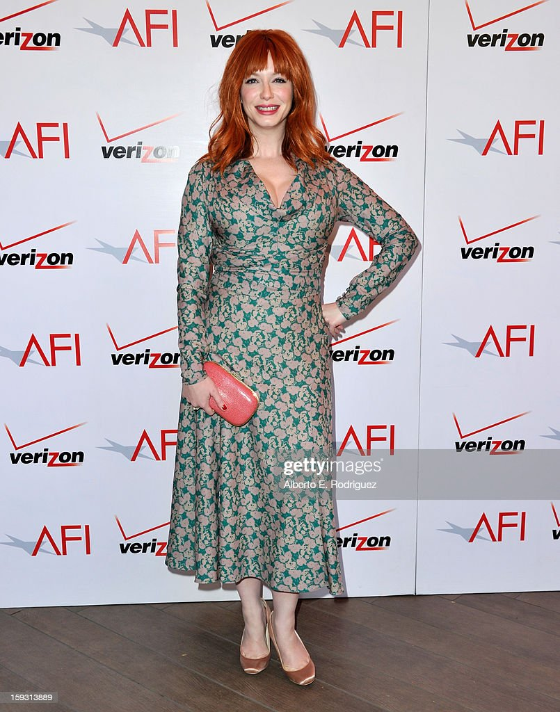 Christina Hendricks Photos Photos: 13th Annual AFI Awards