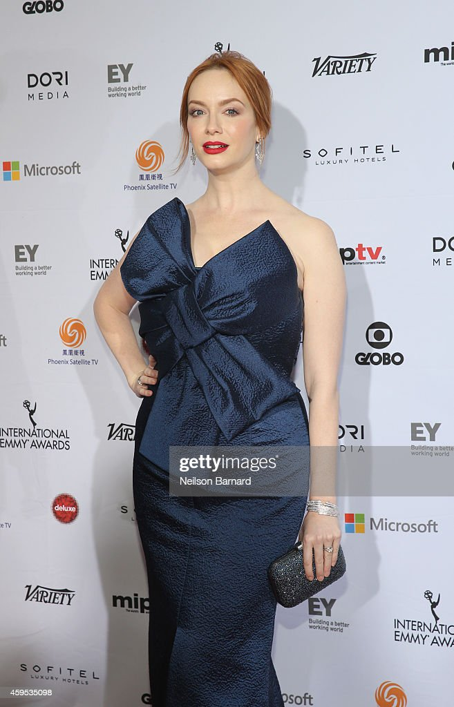 2014  International Academy Of Television Arts & Sciences Awards - Arrivals : News Photo