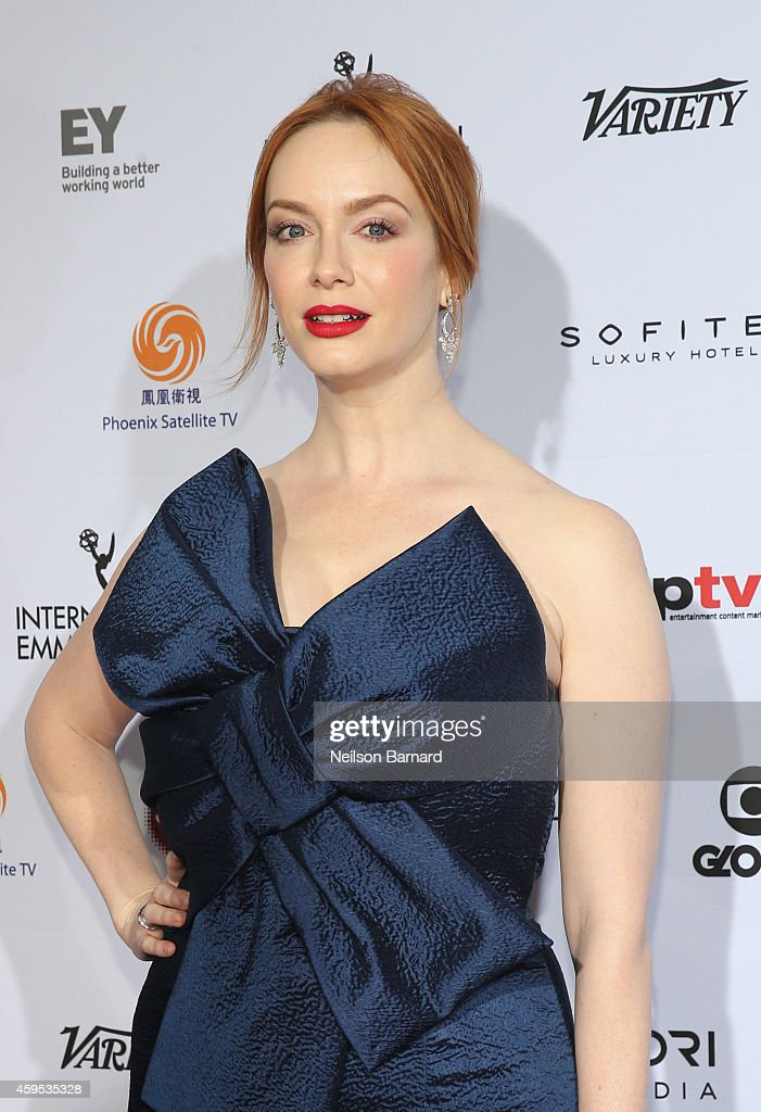 2014  International Academy Of Television Arts & Sciences Awards - Arrivals : News Photo