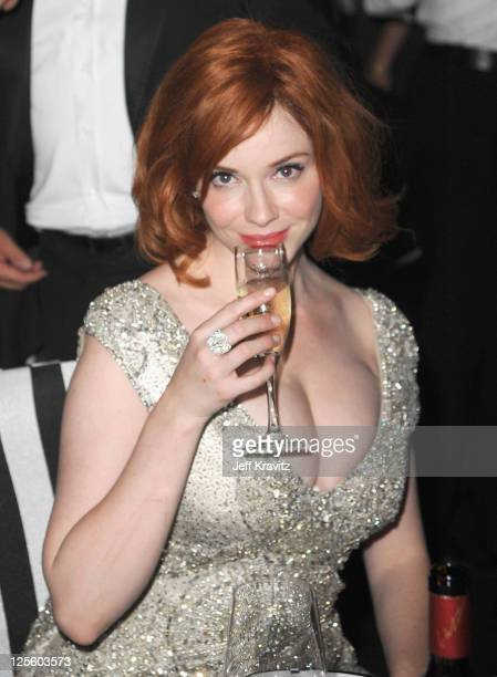 Actress Christina Hendricks attends the Governor's Ball during the 63rd Primetime Emmy Awards at the Los Angeles Convention Center on September 18...