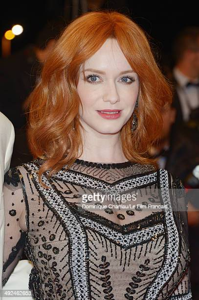 Actress Christina Hendricks attends the 'Lost River' Premiere during the 67th Annual Cannes Film Festival on May 20 2014 in Cannes France