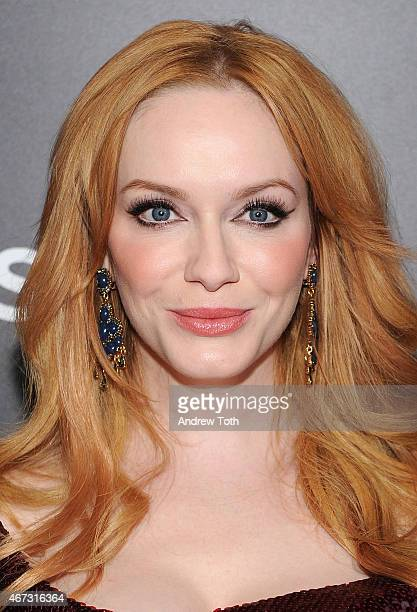 Actress Christina Hendricks attends the 'Mad Men' New York special screening at The Museum of Modern Art on March 22 2015 in New York City