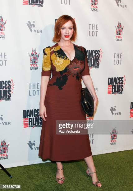 Actress Christina Hendricks attends the premiere of 'Antiquities' at the Dances With Films Festival at the TCL Chinese 6 Theatres on June 16 2018 in...