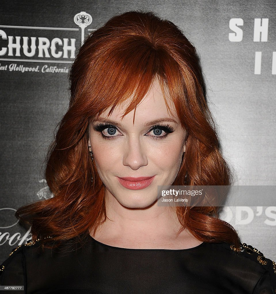 Actress Christina Hendricks attends the premiere of 'God's Pocket' at LACMA on May 1, 2014 in Los Angeles, California.