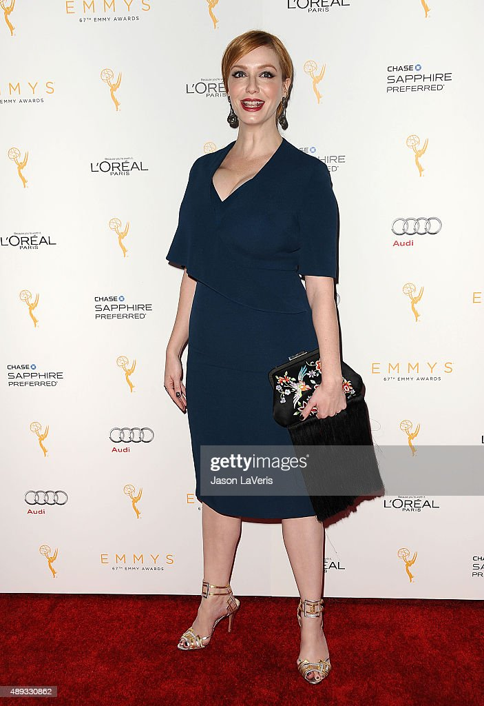 Actress Christina Hendricks Attends The Television Academy S