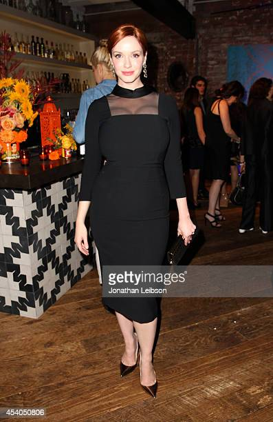 Actress Christina Hendricks attends Variety and Women in Film Emmy Nominee Celebration powered by Samsung Galaxy on August 23 2014 in West Hollywood...