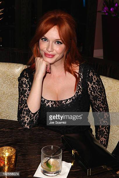 Actress Christina Hendricks attends Variety and Women in Film PreEMMY Event presented by Saint Vintage at Scarpetta Beverly Hills on September 21...