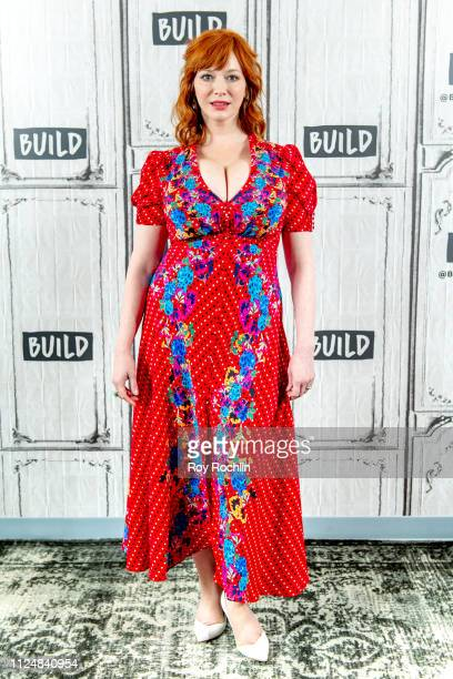 Actress Christina Hendricks discusses Egg with the Build Series at Build Studio on January 25 2019 in New York City