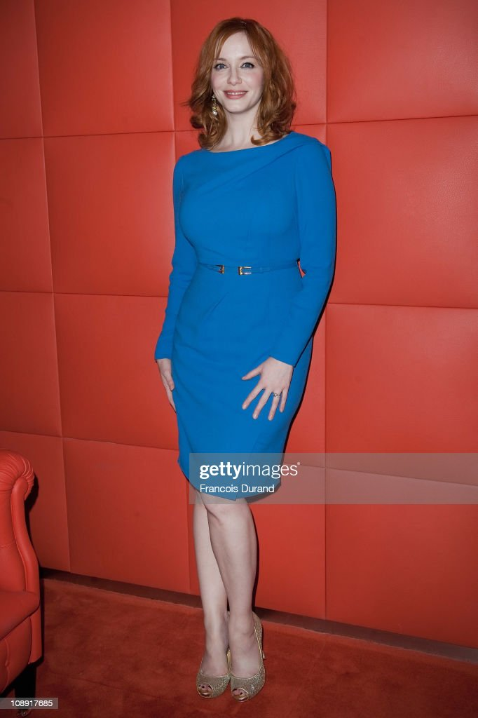 Sundance Channel - Mad Men Gala Event At Hotel Royal Monceau - Inside  Photocall
