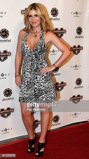 Actress Christina Lindley attends the fall kick off of Amazing Race at Provecho Restaurant Remedy Lounge on September 27 2009 in Los Angeles...