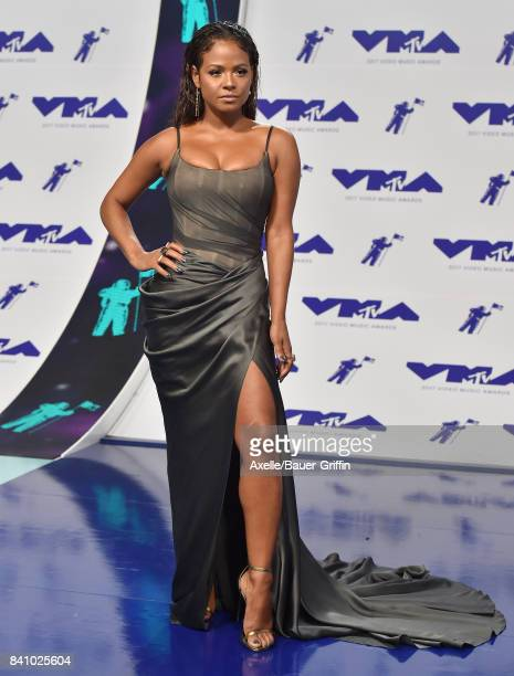 Actress Christina Milian arrives at the 2017 MTV Video Music Awards at The Forum on August 27 2017 in Inglewood California