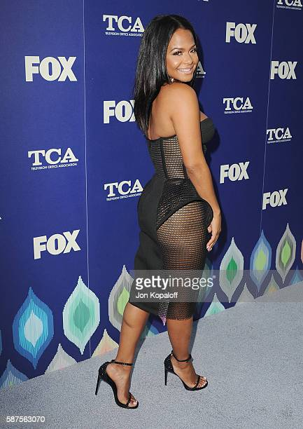 Actress Christina Milian arrives at the FOX Summer TCA Press Tour on August 8 2016 in Los Angeles California