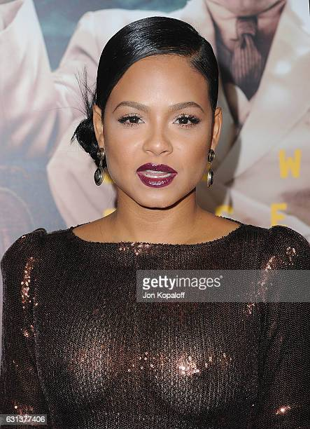 Actress Christina Milian arrives at the Premiere of 'Live By Night' at TCL Chinese Theatre on January 9 2017 in Hollywood California