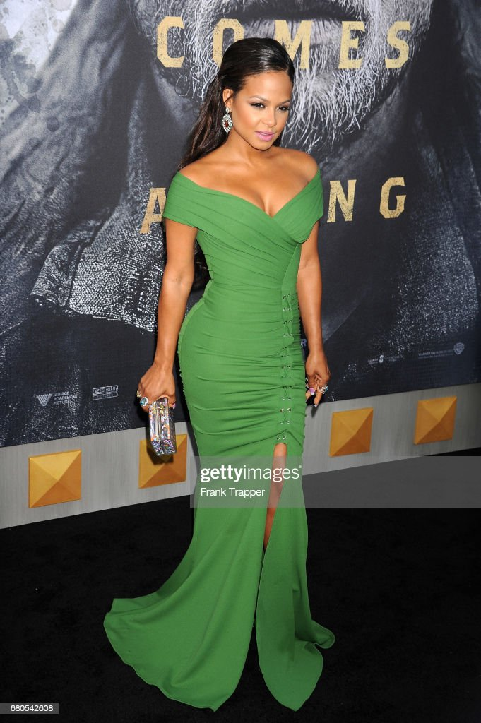 Actress Christina Milian arrives at the premiere of Warner Bros. Pictures' 'King Arthur: Legend Of The Sword' at TCL Chinese Theatre on May 8, 2017 in Hollywood, California.