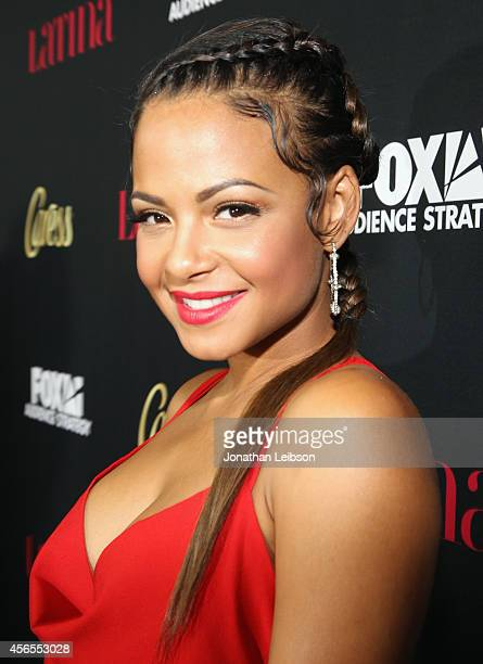 Actress Christina Milian attends Latina Magazine's Hollywood Hot List Party at Sunset Tower on October 2 2014 in West Hollywood California