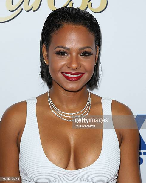 """Actress Christina Milian attends Latina Magazine's """"Hot List"""" party at The London West Hollywood on October 6, 2015 in West Hollywood, California."""